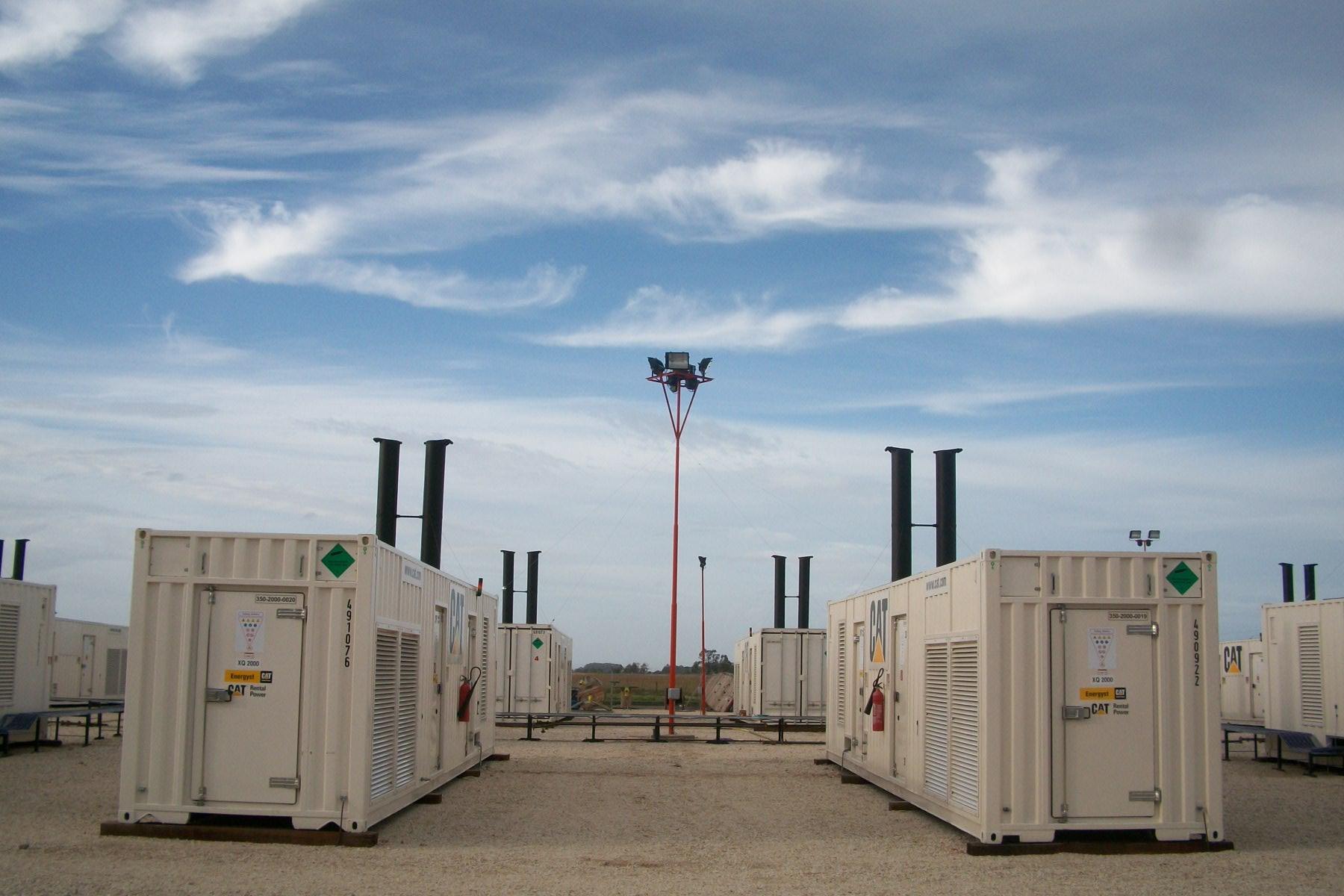 Energyst Power Plant Generator Mar Del Plata Chile 1 O