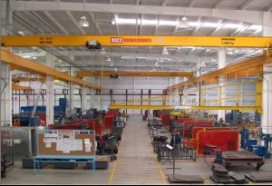 A picture of a manufacturing plant.